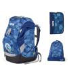 Kép 1/3 - Ergobag MonstBear prime kék iskolatáska szett, elsősöknek