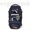 Kép 7/7 - Nordic Blue Satch Pack felsős iskolatáska