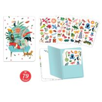 Djeco Jegyzetfüzet 79 db matricával - Sarah stickers notebook