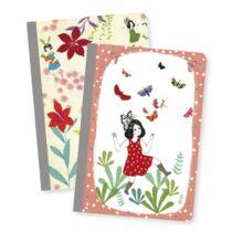 Djeco Jegyzetfüzet 2 db A/6 - Chic little notebooks