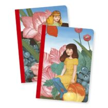 Djeco Jegyzetfüzet 2 db A/6 - Fedora little notebooks