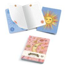 Djeco Jegyzetfüzet 2 db A/6 - Aurelia notebooks