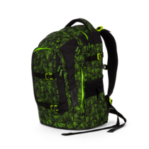 Green Bermuda Satch pack felsős iskolatáska, sport hátizsák