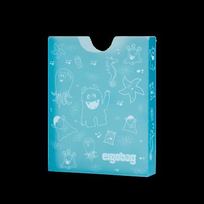 Ergobag füzetbox kék