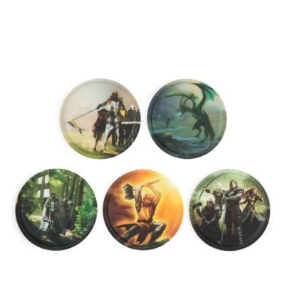 Knights ergobag matricák-Kletties, 5 darabos készlet, Lovagok
