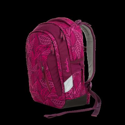 Purple Leaves Satch Sleek felsős iskolatáska
