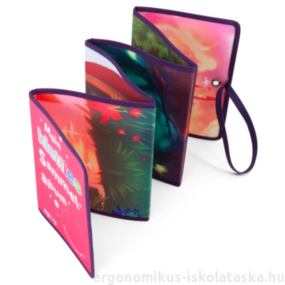 ergobag Kletties Scrap Book - Leporelló - Pink