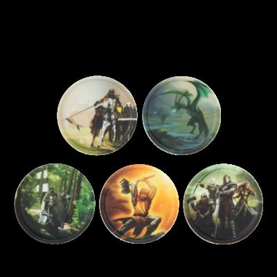 ergobag Matrica-készlet Knights, Lovagok