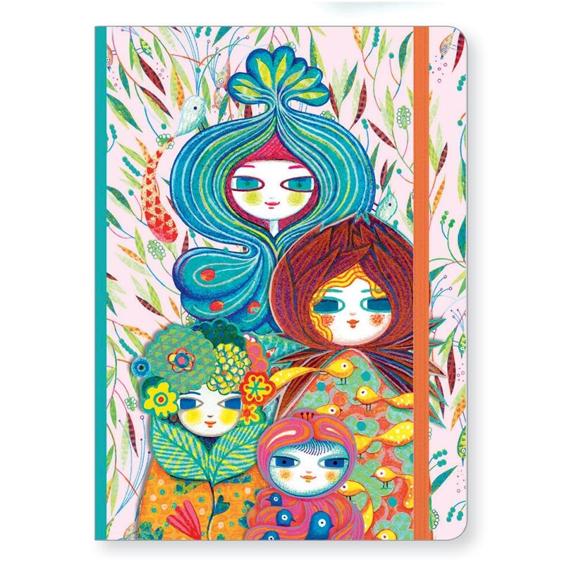 Djeco Jegyzetfüzet A/5 - Muriel notebook