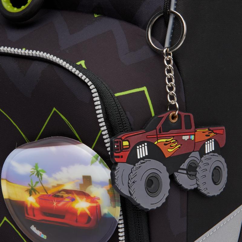 Monstertruck - Óriásautó Kulcstartó - Ergobag Hangies