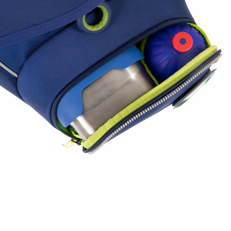 BluelightBear ergobag cubo merevfalú iskolatáska alsósoknak