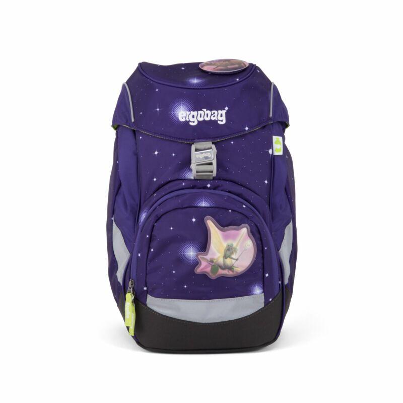 BearyTalesGlow ergobag prime lila alsós iskolatáska, tündéres