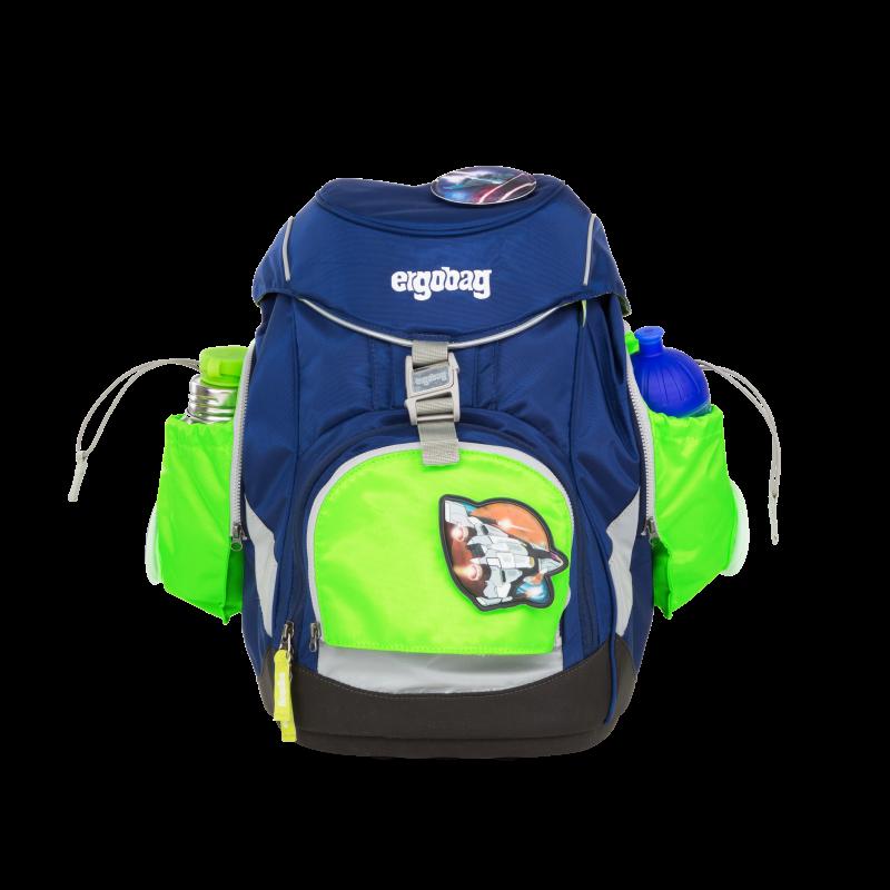 ergobag oldalzseb prémium ergobag táskára, zöld