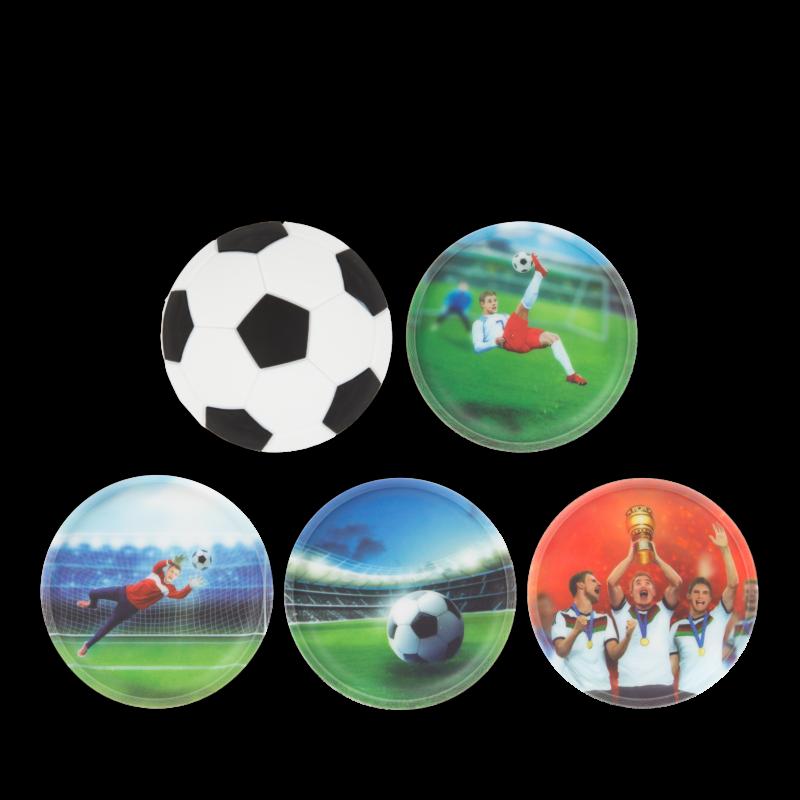 Futball ergobag matricák-Kletties, 5 darabos készlet