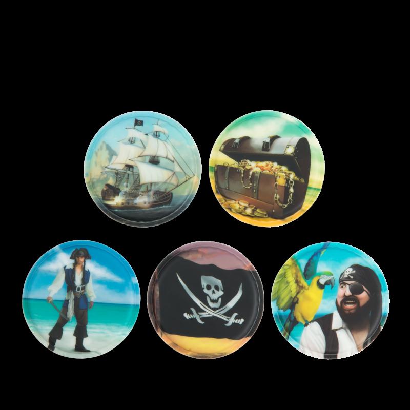 Ergobag Matrica-készlet Pirates