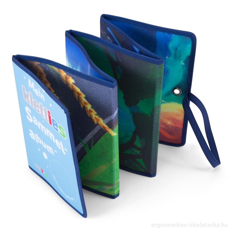 ergobag Kletties Scrap Book - Leporelló - Kék