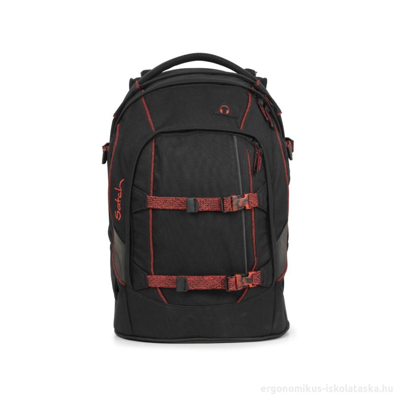Black Volcano Satch Pack felsős iskolatáska