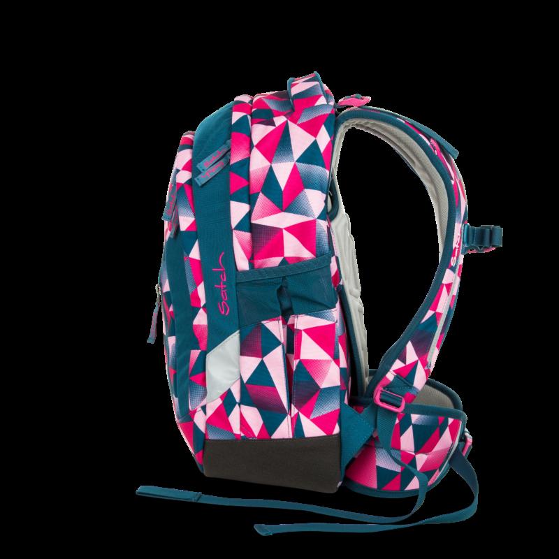 Pink Crush Satch Sleek felsős iskolatáska