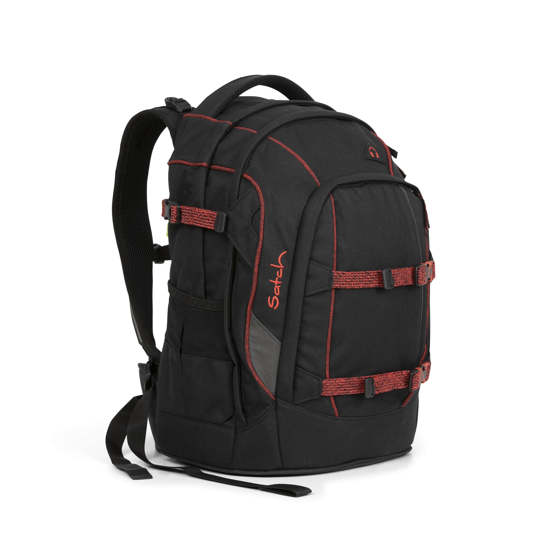ae8fa15593cd Satch Pack Black Volcano - Felsős hátizsák fiúknak Satch